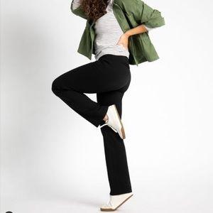 Betabrand | Dress Yoga Pants Black